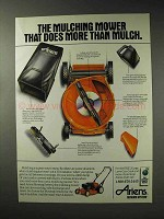 1993 Ariens Mulching Mower Ad - Does More Than Mulch