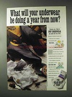 1993 BVD Underwear Ad - Doing a Year From Now