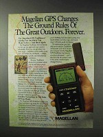 1993 Magellan GPS Trailblazer Ad - Changes Ground Rules