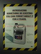 1993 Prestone Longlife Antifreeze Ad - Forget About It