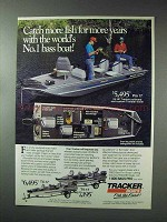 1993 Bass Tracker Pro 17 Boat Ad - Catch More Fish
