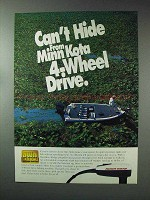 1993 Minn Kota Outboard Motor Ad - Can't Hide