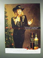 1993 Black Velvet Whisky Advertisement - Tanya Tucker