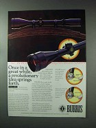 1993 Burris Scopes Ad - Once In a Great While