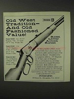 1993 Interarms Rossi Lever Action Rifles Ad - Old West