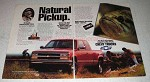 1993 Chevy Z71 Pickup Truck Ad - Natural Pickup