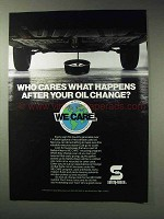 1992 Safety-Kleen Ad - We Care Recycling Program