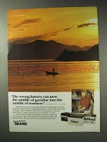 1992 Sears DieHard Batteries Ad - Middle of Paradise