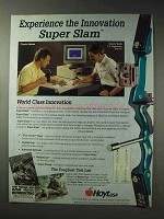 1992 Hoyt Super Slam Bow Ad - Experience Innovation