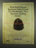 1992 Easton Aluminum Hunting Arrow Ad - World-Famous