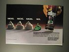 1992 Edge Gel Ad - Nicks Nicks Nicks Nix