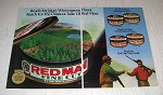 1992 Red Man Tobacco Ad - More Wintergreen Flavor