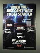 1991 Wal-Mart Champion Batteries Ad - Can't Wait