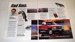 1991 Chevy Full-Size Pickup Truck Ad - Haul Bass