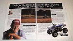 1991 Polaris Trail Boss ATV Ad - It's Hard Working