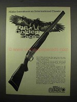 1975 Nikko Golden Eagle Shotgun Ad - Classic