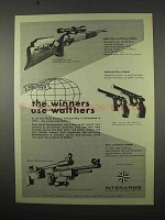 1975 Interarms Walther Ad - Moving Target Match Rifle