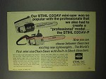 1975 Stihl 020AV and 020AV-P Chain Saws Ad
