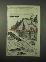 1975 Schrade Old Timer Knives Ad
