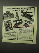 1975 Williams Gun Sight Ad - Accessories Designed For