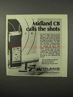 1975 Midland Model 13-777C CB Radio Ad - Calls Shots