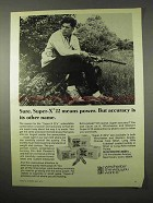 1974 Winchester Super-X 22 Ammunition Ad - Means Power