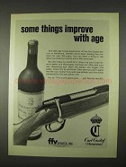 1974 Carl Gustaf Husqvarna Rifle Ad - Improve With Age