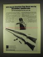 1958 Browning Superposed Trap Model Gun Ad!