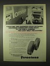 1974 Firestone Transport 500 Wide Oval Truck Tires Ad