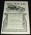 1903 Yale Touring Car Ad, The Doubt Left Out!