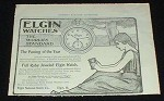 1899 Elgin Watch Ad, The World's Standard!!!