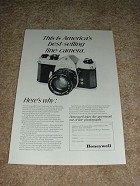 1968 Pentax Spotmatic Camera Ad, NICE!!!