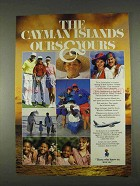 1996 Cayman Islands Tourism Ad - Yours