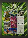 1996 Cayman Islands Tourism Ad - Ours & Yours