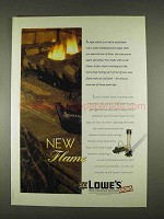 1996 Lowe's Home Improvement Ad - New Flame