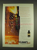 1996 Lowe's Home Improvement Ad - Fireworks