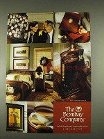 1996 The Bombay Company Ad - Stylish Furnishings
