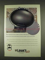 1996 Lowe's Thermos Thermal Electric Grill Ad