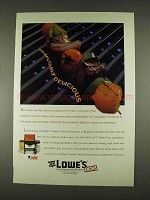 1996 Lowe's Weber Genesis 1000 Gas Barbecue Grill Ad