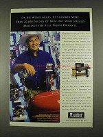 1996 Weber Genesis 3000 Gas Grill Ad - Enjoys Eating