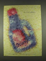 1996 Downy Fabric Softener Ad - Say it With Softness