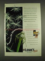 1996 Lowe's Ortho Weed-B-Gon Ad - Elimination