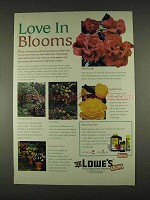 1996 Lowe's Ortho Ad - Systemic Rose Care, Funginex