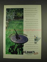 1996 Lowe's Roundup Grass & Weed Killer Ad