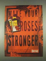 1996 Ortho RosePride Systemic Rose & Flower Care Ad