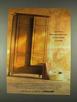 1996 Thomasville Bridges Collection Furniture Ad