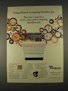 1996 Whirlpool Quiet Partner Dishwasher Ad - Ongoing