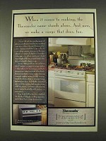 1996 Thermador Ranges Ad - Name Stands Alone
