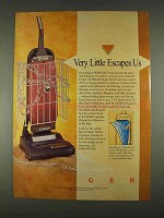 1996 Singer SB1410 Vacuum Ad - Little Escapes Us