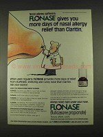 1996 Glaxo Wellcome Flonase Ad - More Days of Relief